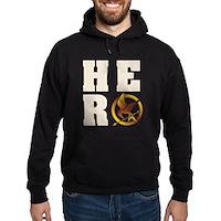 Hunger Games Hero Hoodie (dark)