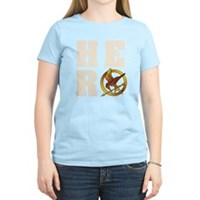 Hunger Games Hero Women's Light T-Shirt
