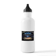 US Flag in Stadium Water Bottle