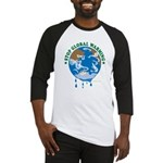 Earth Day : Stop Global Warming Baseball Jersey