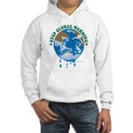 Earth Day : Stop Global Warming Hooded Sweatshirt