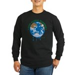 Earth Day : Stop Global Warming Long Sleeve Dark T