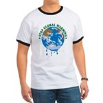 Earth Day : Stop Global Warming Ringer T