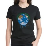 Earth Day : Stop Global Warming Women's Dark T-Shi