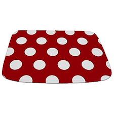 Large Red Polka Dot Bathmat