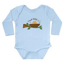 Tweet Baby Branch Long Sleeve Infant Bodysuit