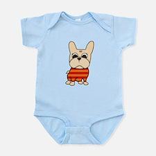 Cream Frenchie Infant Bodysuit
