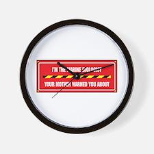 I'm the Biologist Wall Clock
