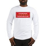 Marine biologist Long Sleeve T-shirts