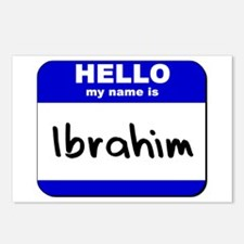 hello my name is ibrahim  Postcards (Package of 8)