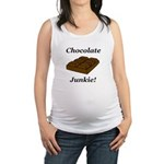 Chocolate Junkie Maternity Tank Top