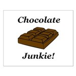 Chocolate Junkie Small Poster