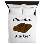 Chocolate Junkie Queen Duvet