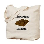 Chocolate Junkie Tote Bag
