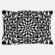 Distorted Checkerboard Pillow Case