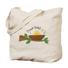 Tweet Baby Branch Tote Bag