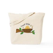 Tweet Baby Branch Tote Bag