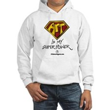 Art Is My Superpower! Hoodie