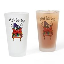 Tickle Me Piano Drinking Glass