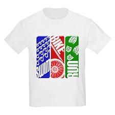 Triathlon TRI Swim Bike Run 3D T-Shirt