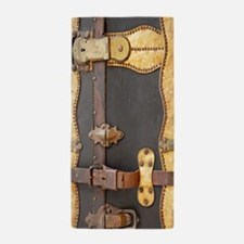 Steampunk Luggage Beach Towel