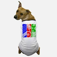 Triathlon TRI Swim Bike Run Dog T-Shirt