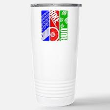 Triathlon TRI Swim Bike Run Travel Mug