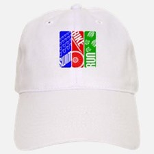 Triathlon TRI Swim Bike Run Baseball Baseball Baseball Cap