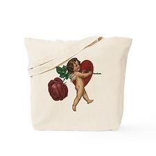 Vintage Valentine's Day Cupid Tote Bag