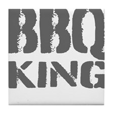 BBQ king Tile Coaster