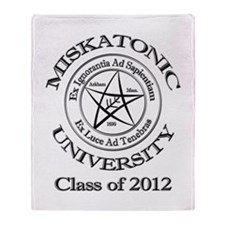 Class of 2012 Throw Blanket