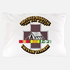 DUI - 3rd Field Hospital w SVC Ribbon Pillow Case