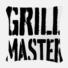 Grill Master Woven Throw Pillow