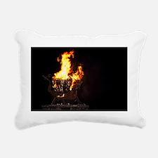 The Welsh Dragon Rectangular Canvas Pillow