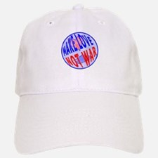 Make Love Baseball Baseball Cap