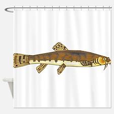 Dojo Fish 3 Shower Curtain