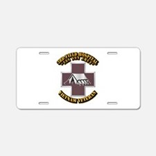 DUI - 3rd Field Hospital Aluminum License Plate