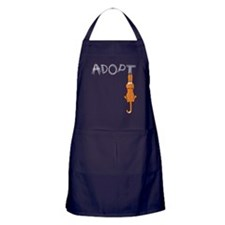 Adopt Cats Rusty™ Apron (dark)