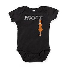 Adopt Cats Rusty™ Baby Bodysuit