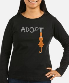 Adopt Cats Rusty™ Long Sleeve T-Shirt