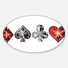 Poker Gems Decal