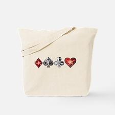 Poker Gems Tote Bag