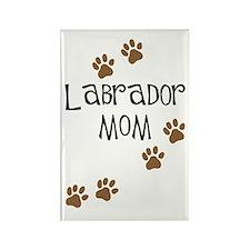 Labrador Mom Rectangle Magnet