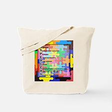 autism aspergers Tote Bag