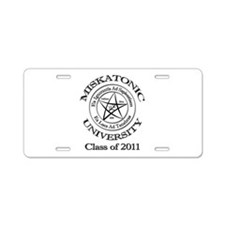 Class of 2011 Aluminum License Plate