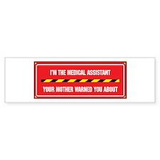 I'm the Assistant Bumper Bumper Sticker