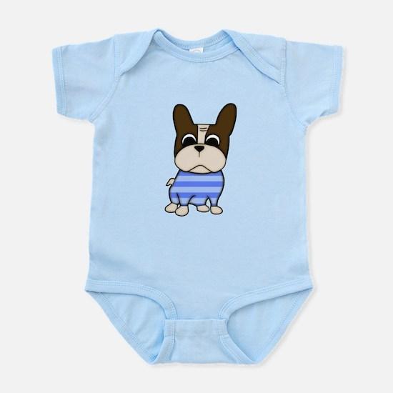 Pied Frenchie Infant Bodysuit