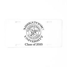 Class of 2010 Aluminum License Plate