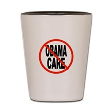 OBAMACARE DEFEAT Shot Glass