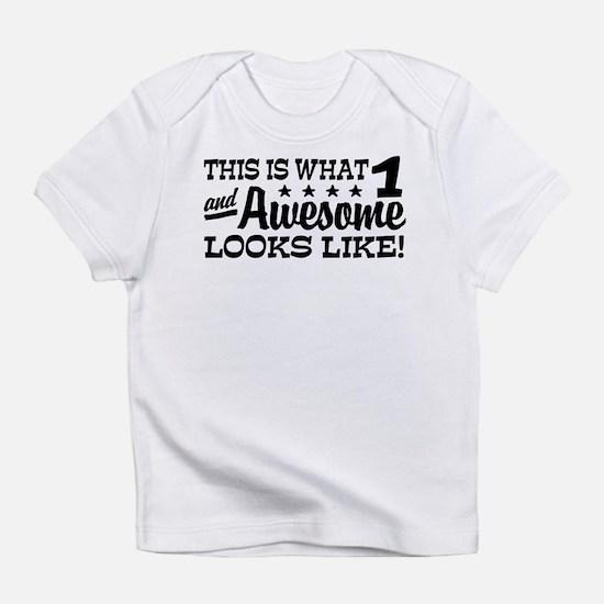Cute Dinosaur first birthday Infant T-Shirt
